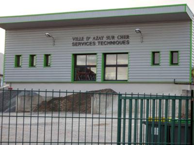 Services techniques Azay-sur-Cher