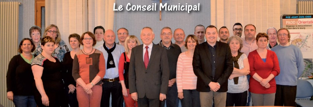 photo consei municipal Azay-sur-Cher