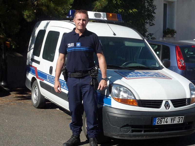 Policier municipal Azay-sur-Cher